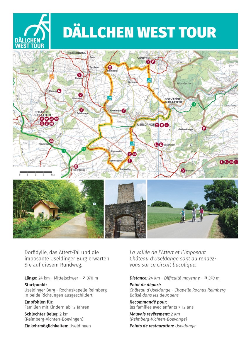 Bike Tour Luxembourg West